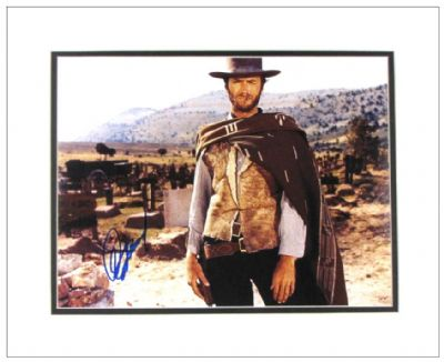 Clint Eastwood Autograph Signed Photo
